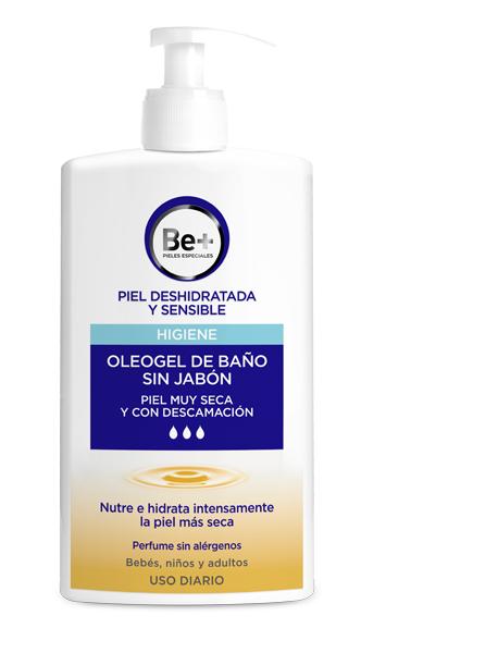 Be+ gel piel muy seca y con descamación